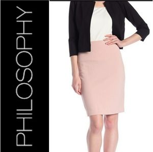Philosophy Pencil Skirt size 4